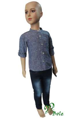 Boy's Shirt with Jeans