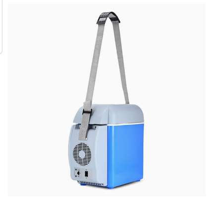 Portable car electronic cooling and warming refrigerator image 5