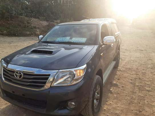 Toyota Hilux Extra Cab With Driver For Rent image 1