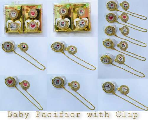 Pacifier with clip