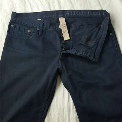 Burberry Shoreditch Deep Blue Mens Jeans