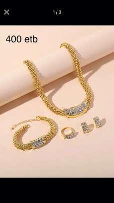 4 Pcs Rhinestone Jewelry image 2