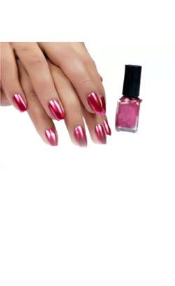 FINAL SALE 6pc Metallic mirror effect nail polish image 5