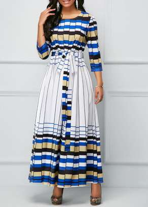 Belted Maxi Dress image 1