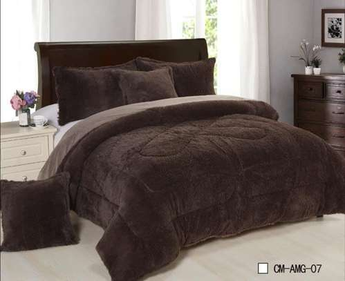 Reversible Luxury 6 pics set comforter - 4 colors image 3