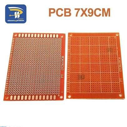 7*9cm Single Side Prototype 2.54mm PCB Breadboard Universal Board Experimental Bakelite Copper Plate Circuirt Board