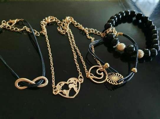 Multilayer Hand Bracelet image 3