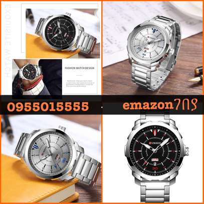 Original Water Resistance CURREN Brand Business Men Watch