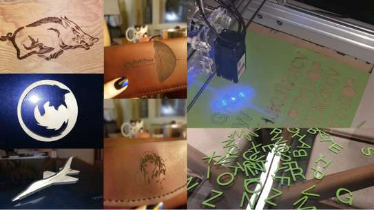 CRONOS 65*65cm 15W/30W Laser Engraving Machine, fixed focus 2Axis Desktop DIY Laser Engraver image 9