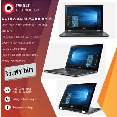 Acer Spin Intel Core i7 8th Generation