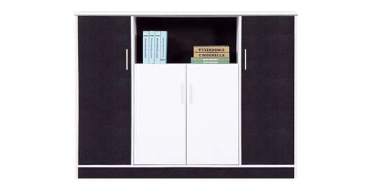 Simple Book Shelf With Cabinet