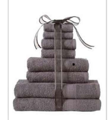 8 Pcs Towel All In One