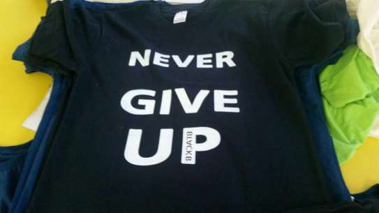 Never Give Up T-shirt image 2