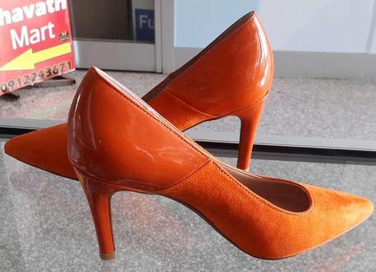 Orange New Fashion Women Star Shoes