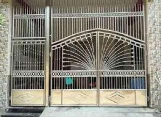 Modern And Simple Main Entrance Gate
