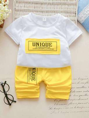Boys Tee and Short