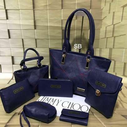 Jimmy Choo  7 Pcs Double zip Handbag image 4