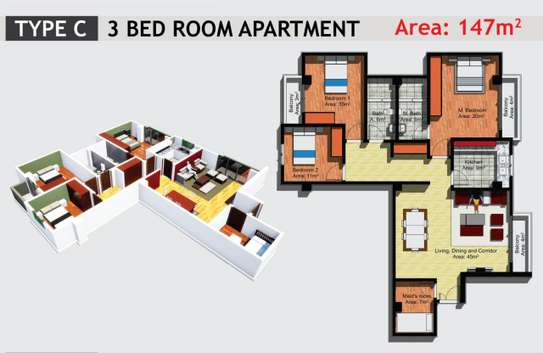 JAMBO REAL ESTATE 1 & 2 BEDROOM APARTMENT image 10