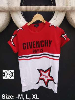 Givenchy Men's Round Neck  Half Sleeve
