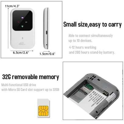 4G/3G wifi router LTE image 1