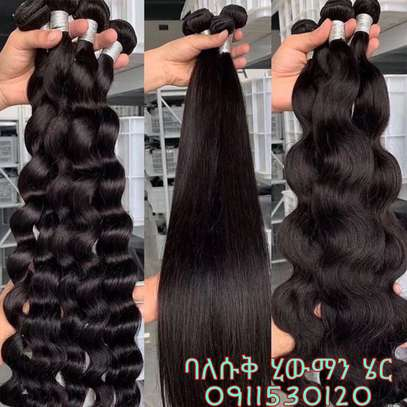 Human hair  (Italian VIRGIN human hair) image 3
