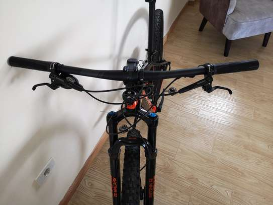 New Scott mountain bike carbon frame size small for men up to 170 cm height image 6
