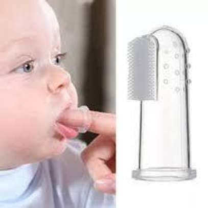 Mommy Hand Teether Brush