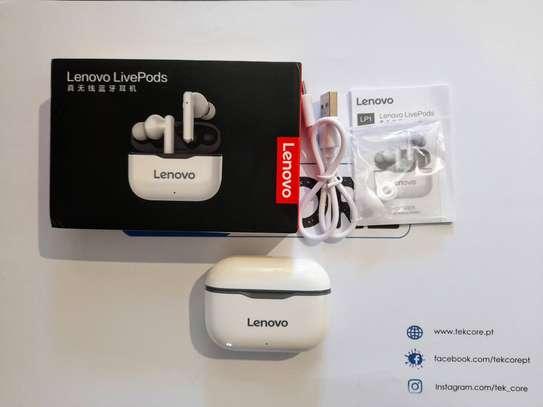 Lenovo LP1 Wireless Bluetooth Earbuds Headphone image 1