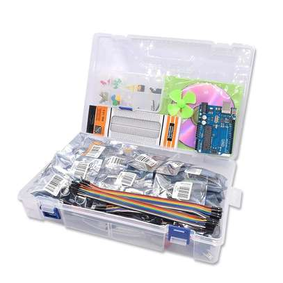 ?UNO R3 Project Complete Starter Kit including SG90 , Joystick Module, Ultrasonic Sensor, DHT11,ect. for Arduino with Tutorial #kit #arduino #maker_kit_21 image 2