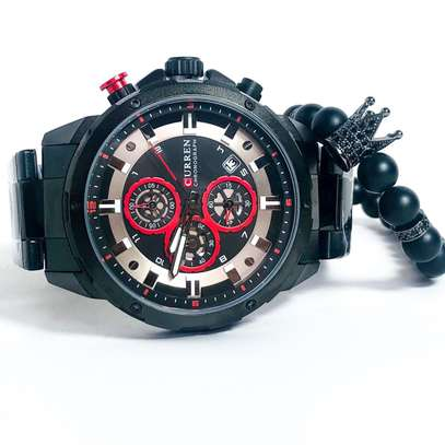 Curren Chronograph Watches image 1