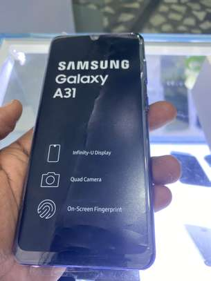 Samsung A31 storage 128GB RAM 6GB brand new image 1