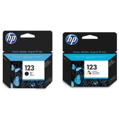 Hp 123 Color / Black Original Ink Cartridge
