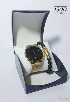Fitron Classic Watch For Gentleman