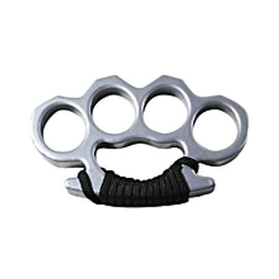 Fight Ring Four Finger Knuckle Outdoor Tactical image 1