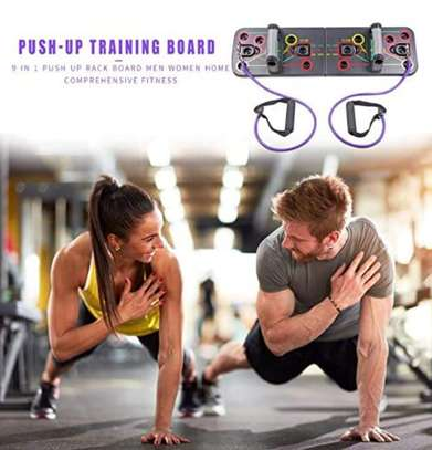 Multifunction Push-up Stands For GYM Body Training image 2