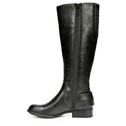 Black Men's Leather Boots