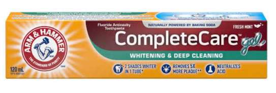 Arm & Hammer Toothpaste image 1