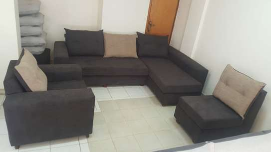 Sofa with Chaise Lounge image 2