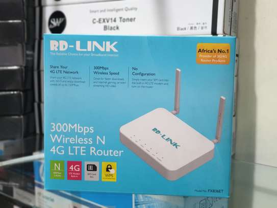 RD 4G Router and Adsl Modem