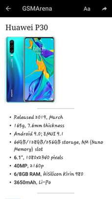 Original New Huawei p30 pro With Full Accessories