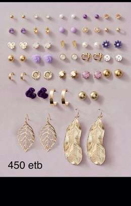 30 Leaf & Flower Earrings Sets image 2