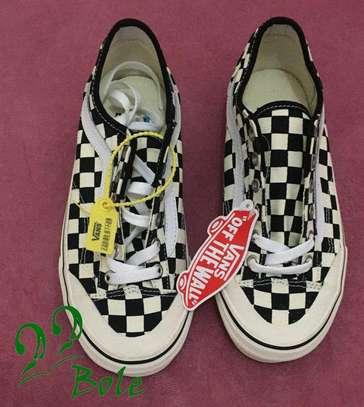 Black & White VANS Shoes