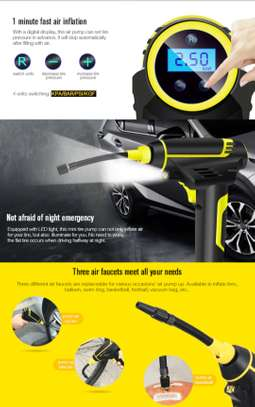 Rechargeable Car Air pump-portable