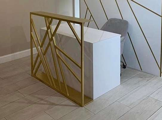 Designed Reception Desk