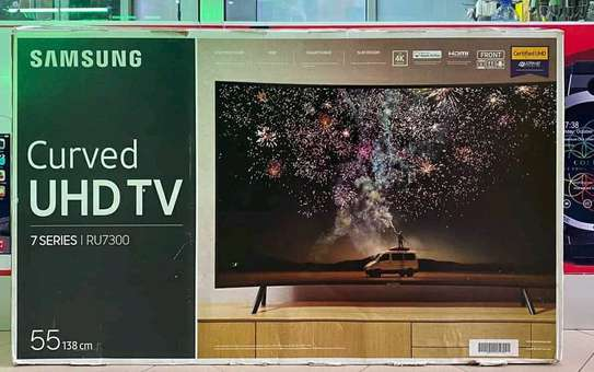 55 inch Samsung UHD Curved TV (2019 )