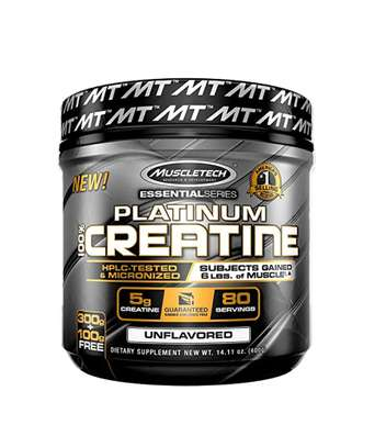 Platinum Creatine Monohydrate Powder, 100% Pure Creatine Powder, 80 Servings