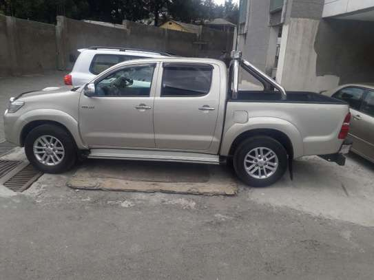 2012 Model-Toyota Hilux  Double Cup