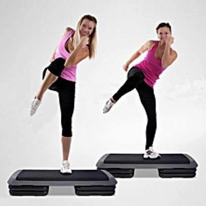 Gym Cradio Fitness Workout Exercise Block Bench image 1