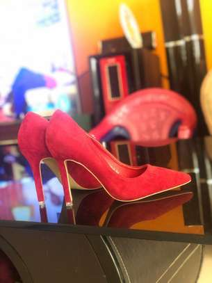 Red-High Heel Shoes