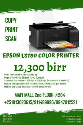 Epson L3150 color printer (print,scan,copy)